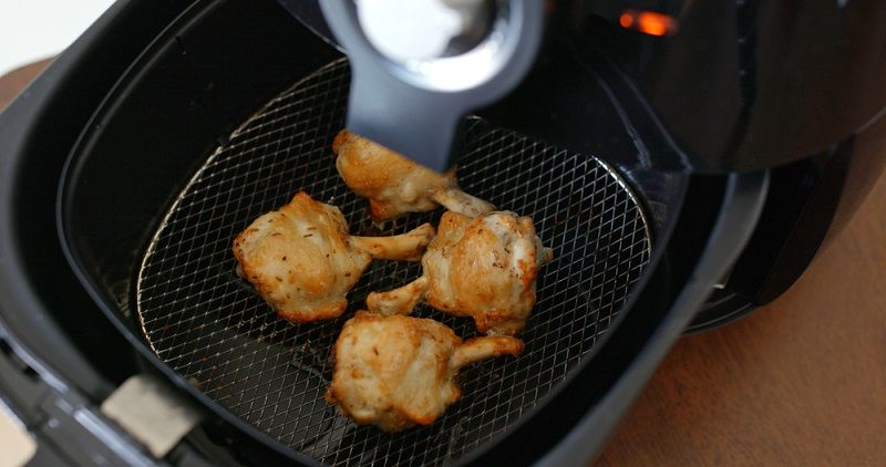 how to use gotham steel air fryer