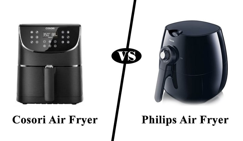 cosori vs philips air fryer