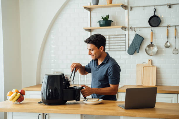 how does air fryer works